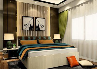 F-006 Example bedroom