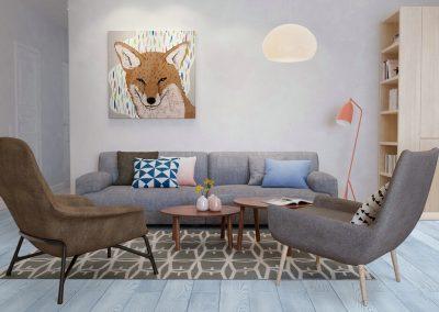 F-007 Example livingroom