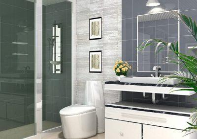 MH-001-1 Example bathroom