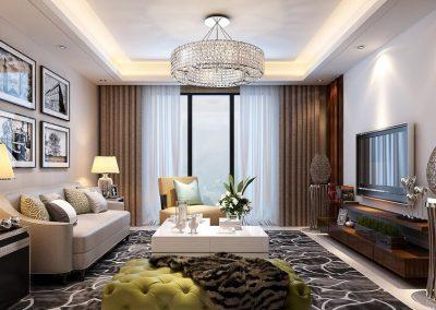 MH-004 Example livingroom